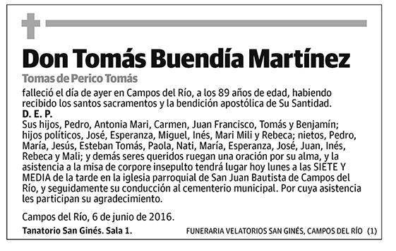 Tomás Buendía Martínez