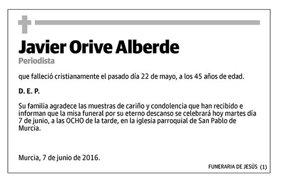 Javier Orive Alberde