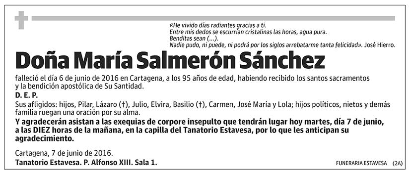 María Salmerón Sánchez
