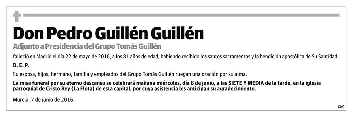 Pedro Guillén Guillén
