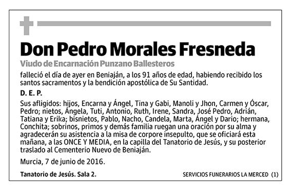 Pedro Morales Fresneda