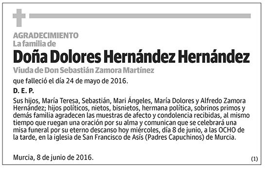 Dolores Hernández Hernández