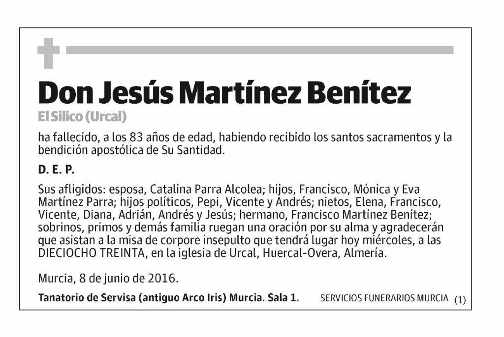 Jesús Martínez Benítez