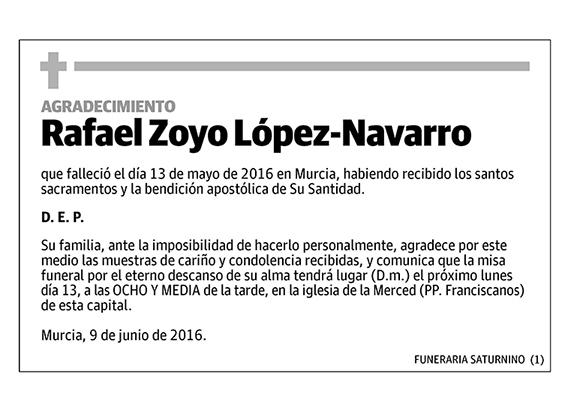 Rafael Zoyo López-Navarro