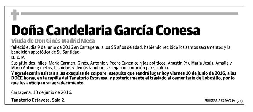 Candelaria García Conesa