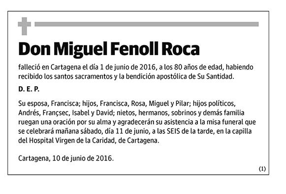Miguel Fenoll Roca