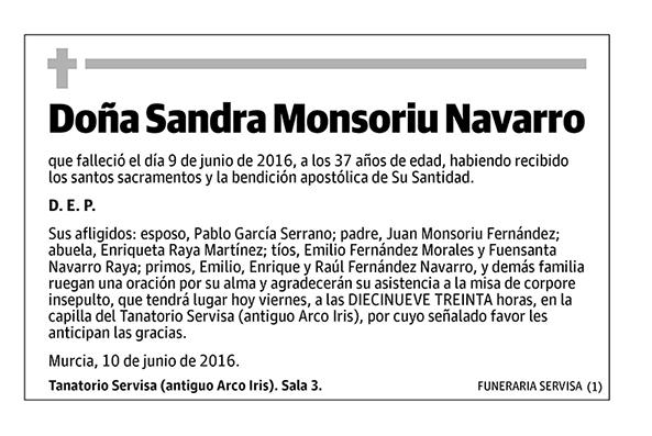Sandra Monsoriu Navarro