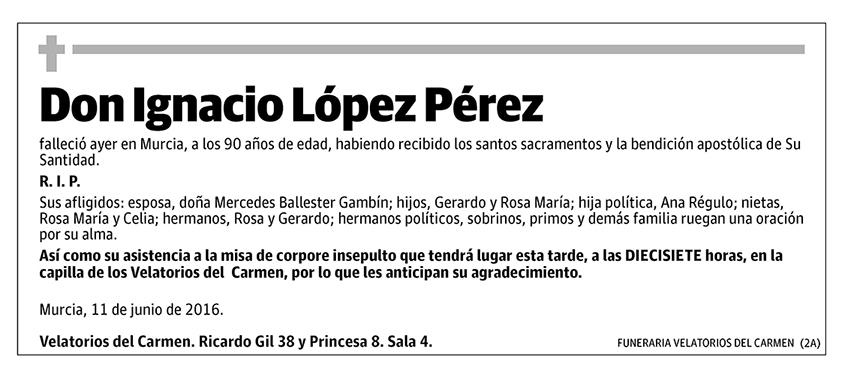 Ignacio López Pérez