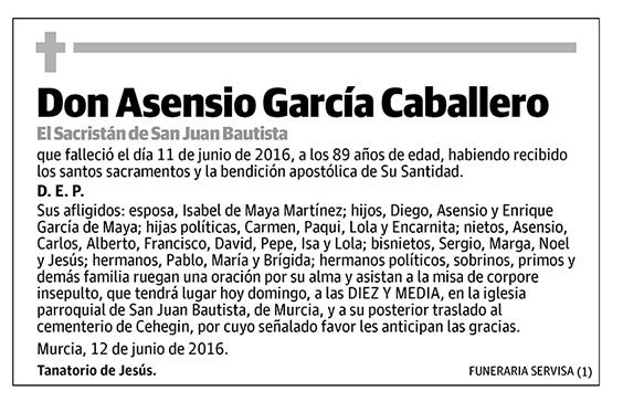 Asensio García Caballero
