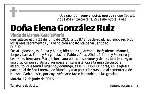 Elena González Ruiz
