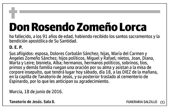 Rosendo Zomeño Lorca
