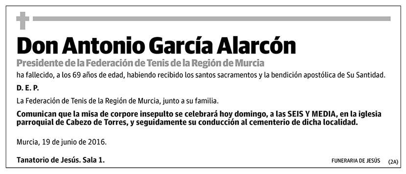 Antonio García Alarcón