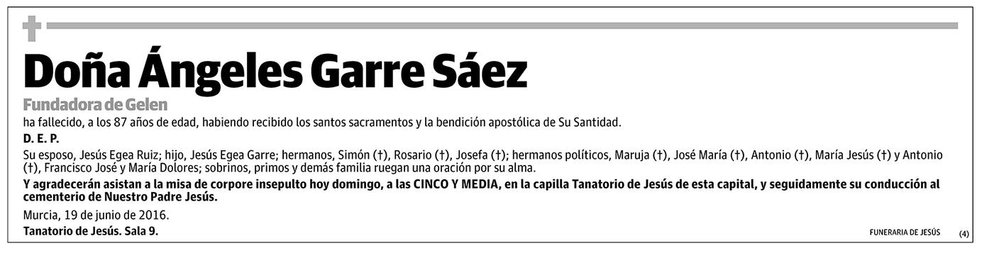 Ángeles Garre Sáez