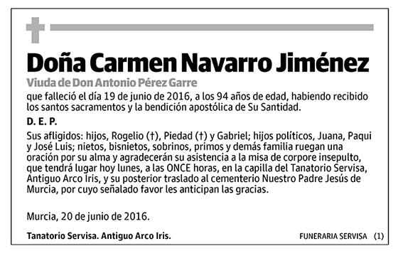 Carmen Navarro Jiménez