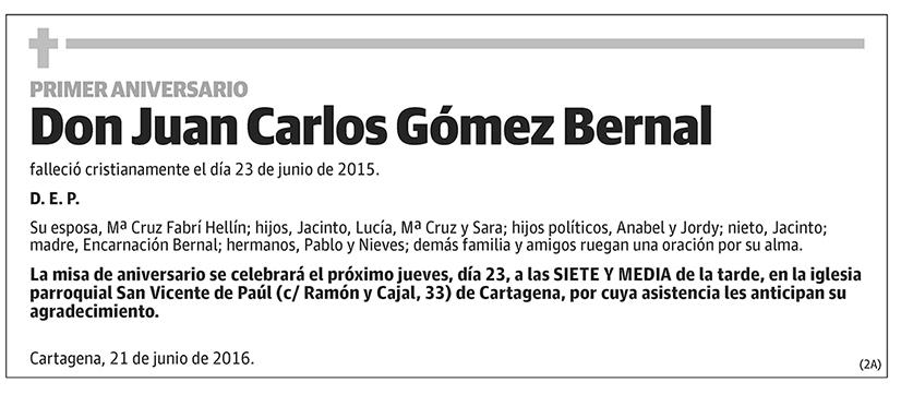 Juan Carlos Gómez Bernal