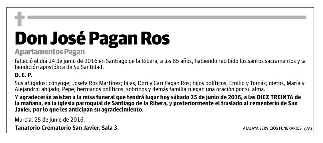 José Pagan Ros