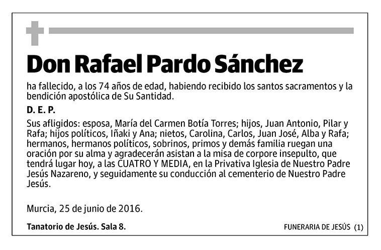 Rafael Pardo Sánchez