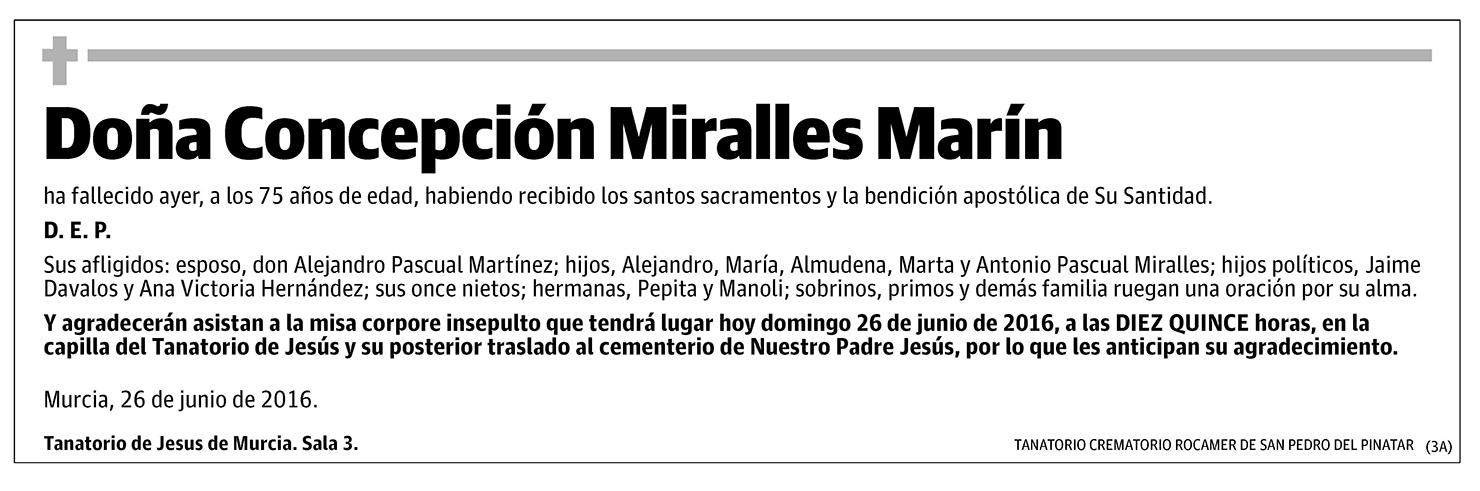 Concepción Miralles Marín
