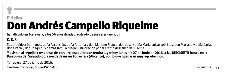 Andrés Campello Riquelme