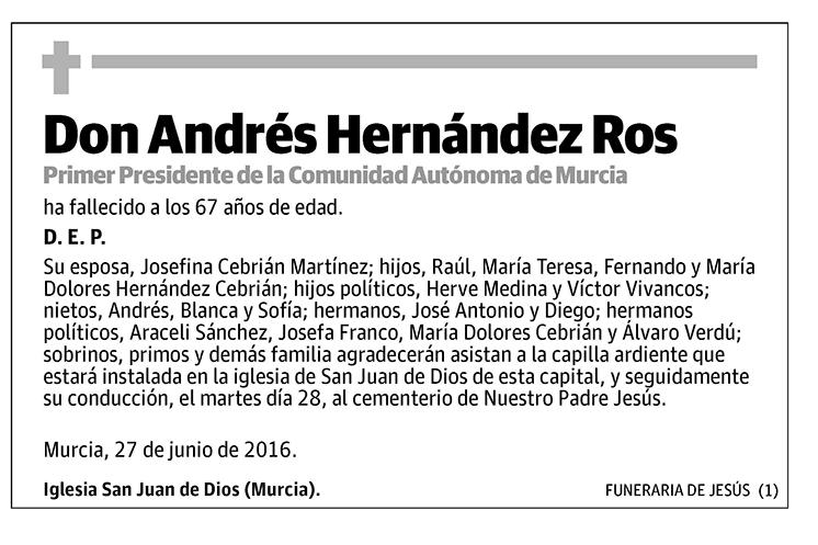 Andrés Hernández Ros