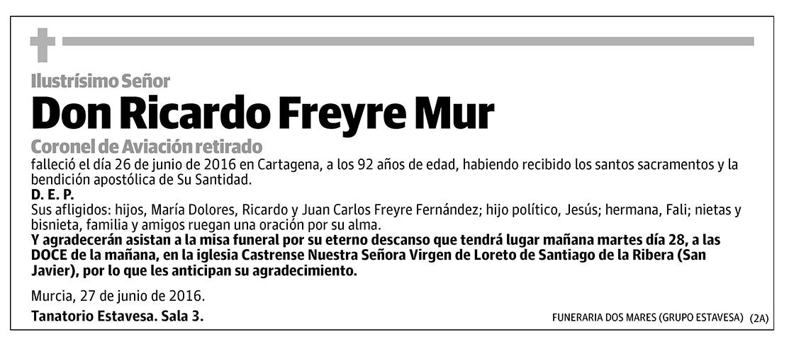 Ricardo Freyre Mur