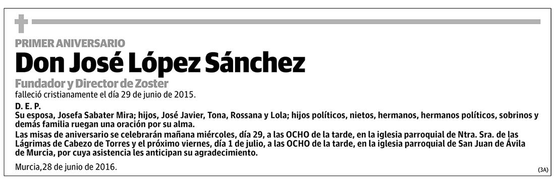 José López Sánchez