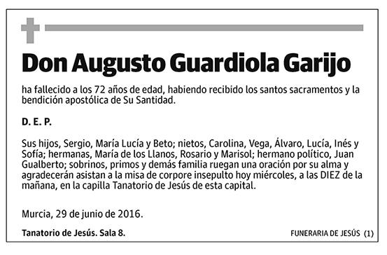Augusto Guardiola Garijo