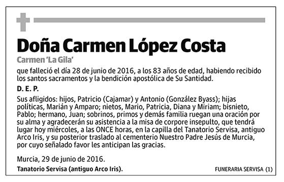 Carmen López Costa