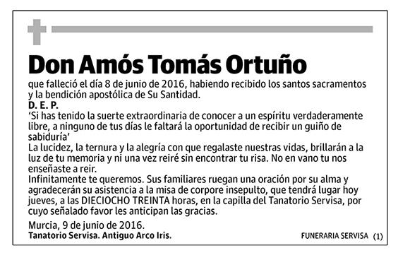Amós Tomás Ortuño