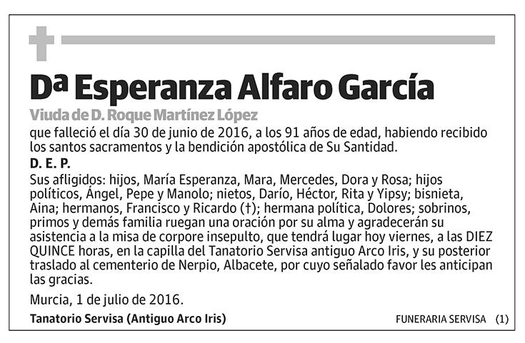 Esperanza Alfaro García