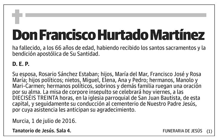 Francisco Hurtado Martínez