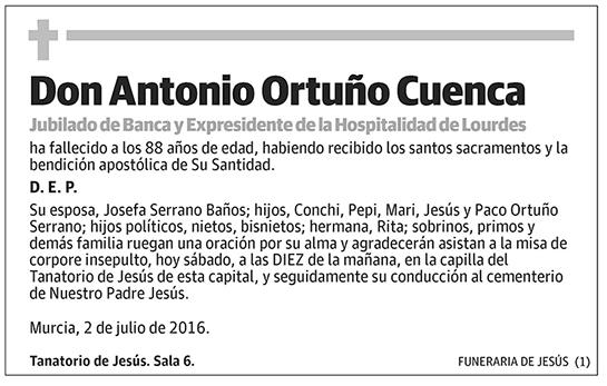 Antonio Ortuño Cuenca