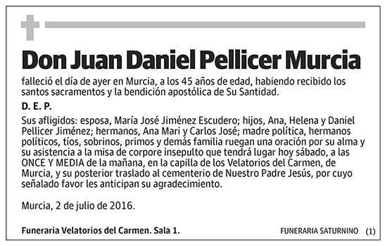 Juan Daniel Pellicer Murcia