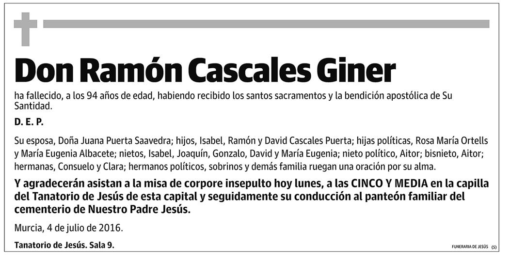 Ramón Cascales Giner