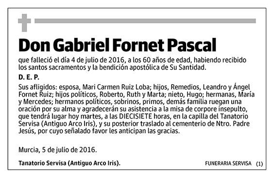 Gabriel Fornet Pascal
