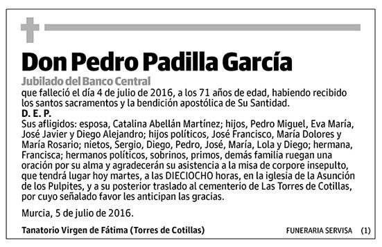 Pedro Padilla García