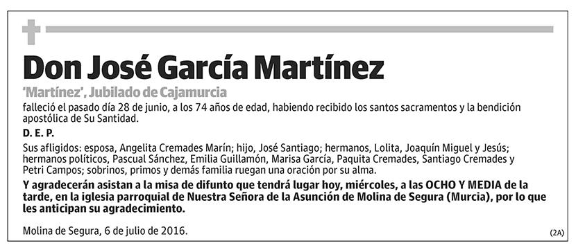 José García Martínez