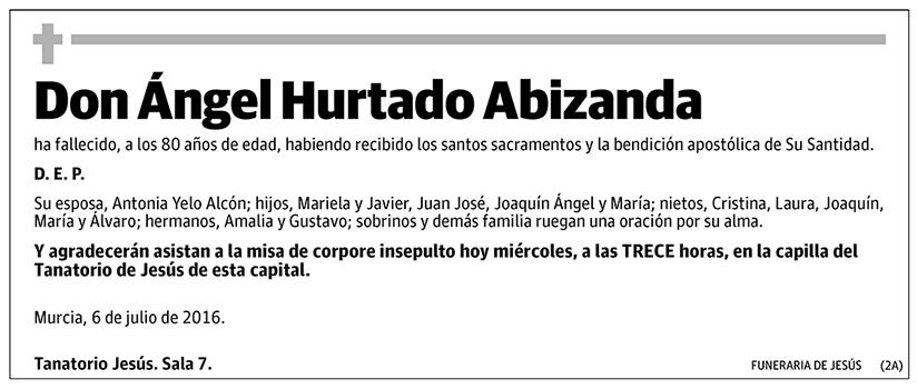 Ángel Hurtado Abizanda