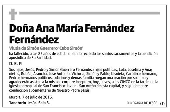 Ana María Fernández Fernández