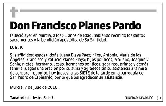 Francisco Planes Pardo