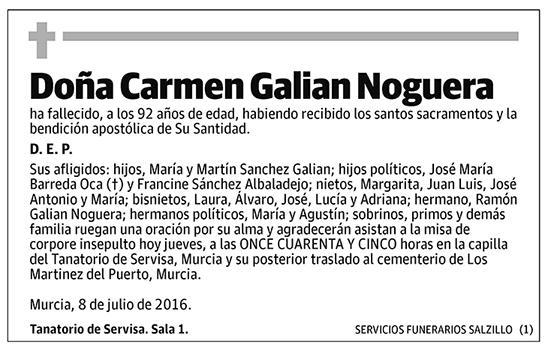 Carmen Galian Noguera