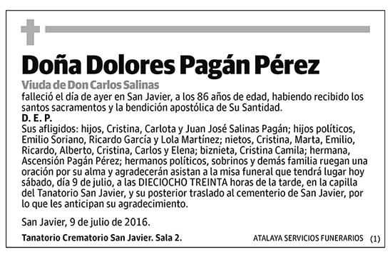 Dolores Pagán Pérez