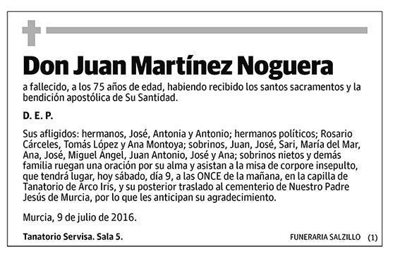 Juan Martínez Noguera