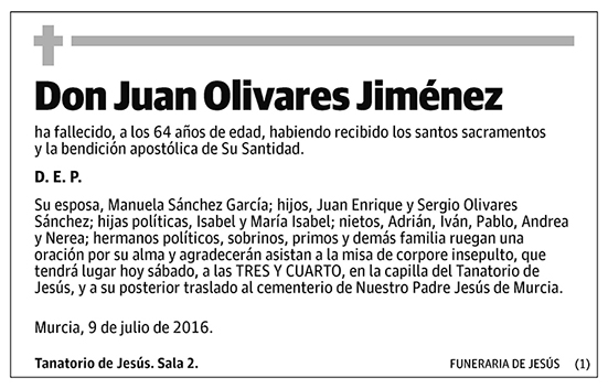 Juan Olivares Jiménez