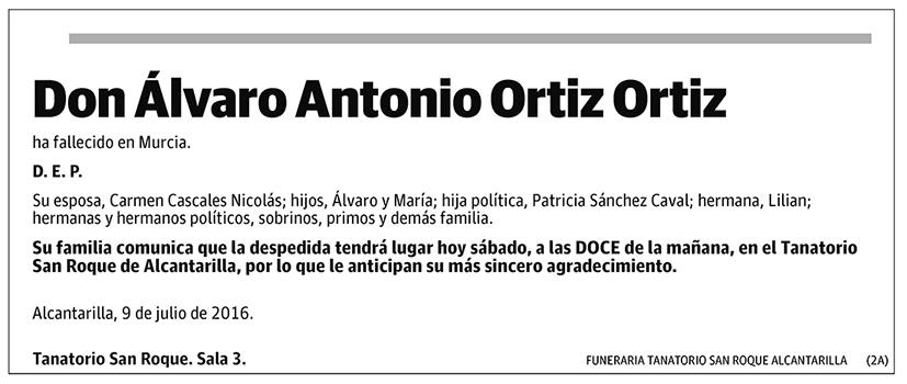 Álvaro Antonio Ortiz Ortiz