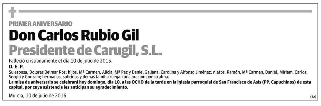 Carlos Rubio Gil