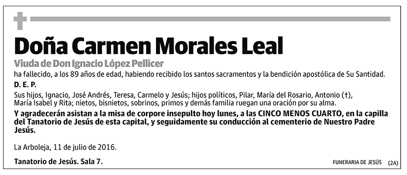 Carmen Morales Leal