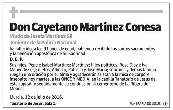 Cayetano Martínez Conesa