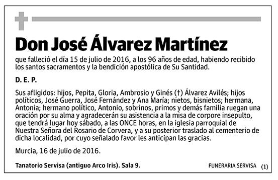 José Álvarez Martínez