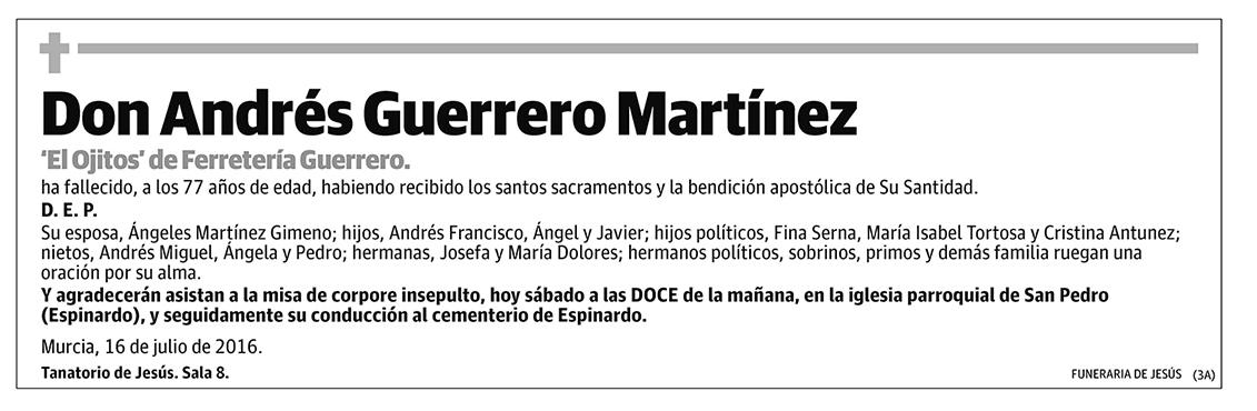 Andrés Guerrero Martínez